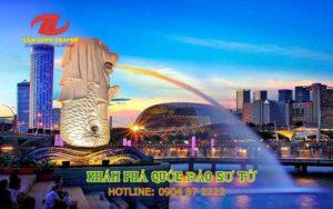 DU LỊCH SINGAPORE, KHÁM PHÁ QUỐC ĐẢO SƯ TỬ 2020